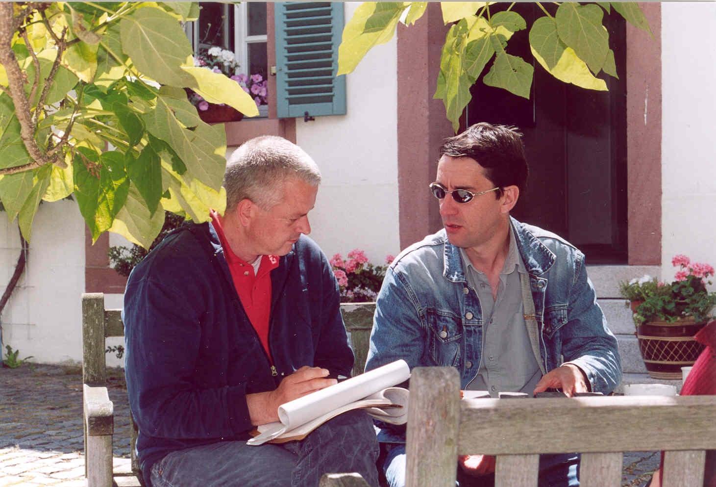 Translating with Ulf Stolterfoht, Edenkoben